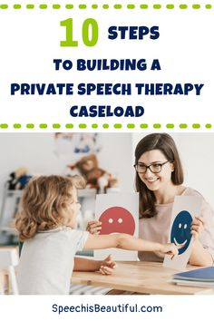 Thinking of starting a private speech therapy practice? But how do you market your private SLP practice to find clients? Here are the steps that I have taken that have led me to both pediatric and adult speech therapy clients. | Speech is Beautiful