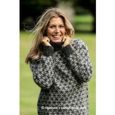 Helmønstret Raglansweater