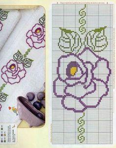 Sunshine Home Decor Cross Stitch Bookmarks, Cross Stitch Borders, Cross Stitch Flowers, Cross Stitch Designs, Cross Stitching, Cross Stitch Embroidery, Hand Embroidery, Cross Stitch Patterns, Embroidery Designs