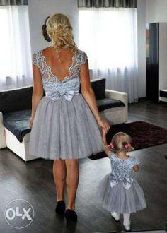 Sukienka dla mamy i córki tiul Radom - image 2