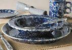 Bennington Pottery -Classic  Dinnerware Set    12 Piece   Service for 4