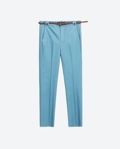 TROUSERS WITH BELT-View all-WOMAN-NEW IN | ZARA United States