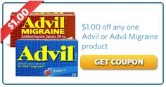 Save $1.00 off Advil or Advil Migraine    Get it here: http://free4him.com/coupons/save-on-advil-advil-migraine/