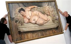 Lucian Freud - Sue Tilley
