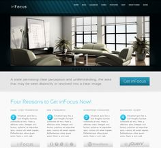 InFocus WordPress themes is a powerful and professional theme, it is one of premium WordPress themes  with more features, flexible for users. InFocus WordPress themes is one of the few built WordPress Professional themes advance admin panel with WordPress 3.0 menu, very good SEO optimization by Citywpthemes.com