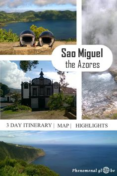 Detailed travel advice for Sao Miguel, a gorgeous and undiscovered island in the Atlantic Ocean! Information about the highlights of the island, average daily budget needed and 3 day trips (with map).