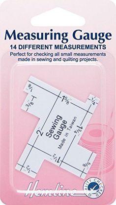 Hemline Quilting/Sewing Measuring Gauge by Hemline Hemline https://www.amazon.ca/dp/B01H2SME74/ref=cm_sw_r_pi_dp_x_yhEPxb3K810B3