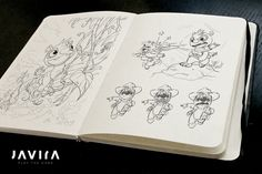 Early concept sketches for TIMO   Developer blog
