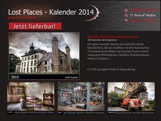 Urbex Kalender für 2014