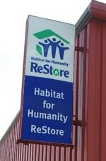 ReStore Habitat for humanity- Cheap home improvement items. I didnt know this existed! I want to check it out!