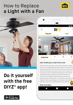 Photo booth app party invite or thank you note for a diy photo ceiling fans can help lower heating costs in the winter and lower cooling costs in the summer replacing an existing light with a ceiling fan is a project solutioingenieria Gallery