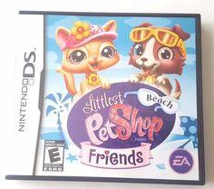 Nintendo DS Dsi Dsl Complete Game LITTLEST PET SHOP BEACH FRIENDS Mini Games ++
