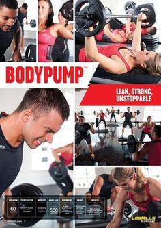 Bring on Monday and Body Pump!  Oh how I have missed you!  Les Mills Body Pump