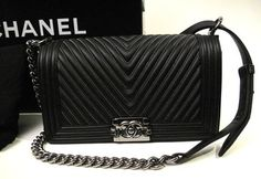 Chanel Boy Chevron Flap Fall/winter 2015 2nd Delivery Shoulder Bag. Get one of the hottest styles of the season! The Chanel Boy Chevron Flap Fall/winter 2015 2nd Delivery Shoulder Bag is a top 10 member favorite on Tradesy. Save on yours before they're sold out!