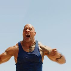 New party member! Tags: comedy muscles the rock strong dwayne johnson baywatch pumped up #baywatch movie