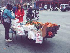 F R U I T S #wuhan#china#chinesefood#streetfood#chinesestyle#qingnianlu