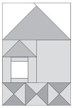 Moda Be My Neighbor Free Pattern - Block 4