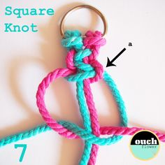 Hello and welcome to KNOT SCHOOL    Today is the second in a series of posts, where I show you 7 basic Macramé knots.  You have been watchi...