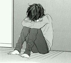 boy, manga, and anime Bild Sad Anime, Anime Boy Crying, Manga Anime, Manga Boy, Anime Guys, Anime Art, Anime Triste, Manga Tumblr, Anime Negra