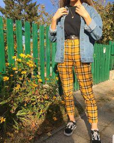 Style vintage outfits retro ideas for 2019 Retro Outfits, Vintage Outfits, Mode Outfits, Trendy Outfits, Girl Outfits, Crazy Outfits, School Outfits, Grunge Fashion, Look Fashion