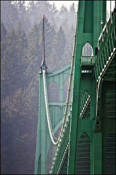 St Johns Bridge, Portland, Oregon
