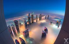 Landing On Planet Dubai by Daniel Cheong