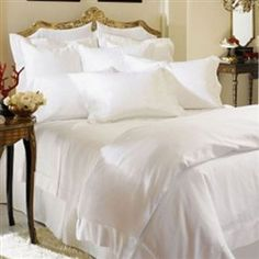 Simply put, Giza 45 the finest cotton in the world. The SFERRA Giza 45 Luxury Bedding collections are made with GIZA 45 cotton - the softest, smoothest and most luxurious that you will ever find. So soft and silky, they're just amazing and will make you feel like you're sleeping on a cloud.