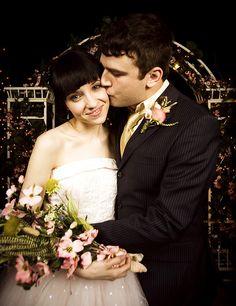 Max Bemis and Sherri had the cutest wedding.