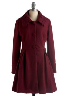 repinned with info: Kir Royale Coat by Darling, from Modcloth. $131.99, but listed as out of stock. Wah.