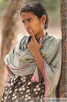 """""""Through a Widow's Tears""""—Feature Story from Gospel for Asia"""