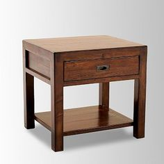 Library End Table #WestElm