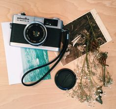 thebohoboutique: Minolta Hi-Matic G 35mm Camera //