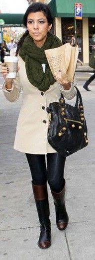 Kourtney Kardashian...love her boots