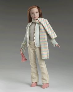 Field Trip (2005)  OUTFIT ONLY  LE1500   T5-M12C-00-005  $29.99     Tyler Wentworth® invited her little sister, Marley, and her classmates to the House of Wentworth to see how a collection is transformed from sketch to garment. Marley Wentworth™ was the perfect trendsetter in a mint autumn pants outfit dashed in coral designed by none other than her sister, Tyler! With a jacket trimmed in ribbon and matching scarf, Marley served as a great model when Tyler discussed color themes to the…