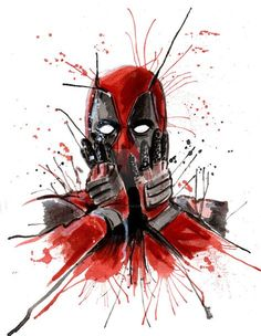 #Deadpool #Fan #Art. (08 Deadpool) By: TheArtofFish. (THE * 5 * STÅR * ÅWARD * OF: * AW YEAH, IT'S MAJOR ÅWESOMENESS!!!™) [THANK U 4 PINNING!!!<·><]<©>ÅÅÅ+(OB4E)