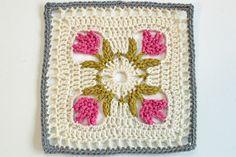 tulip dishcloth - crochet free pattern by SueZB