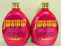LOT OF 2 - New Jwoww Tanning Lotion ((ONE AND DONE)) Advance Black Bronzer Fall  #AustralianGold