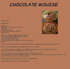 Chocolate Mousse :)