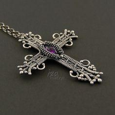 Color Purple necklace - Iza Malczyk