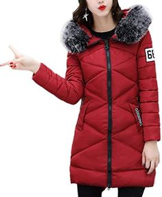 Hurrg Men Zipper Thicken Quilted Padded Winter Warm Hooded Bomber Down Jacket