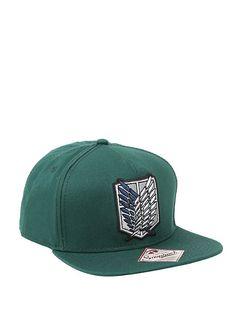 Attack On Titan Scout Regiment Snapback Hat,
