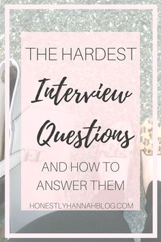 The Hardest Job Interview Questions and How to Answer Them - Resume Template Ideas of Resume Template - Interviews can be intimidating. Be prepared for your next interview by learning all these tough interview questions and how to answer them! Teacher Job Interview, Tough Interview Questions, Teacher Interviews, Interview Answers, Interview Skills, Job Interview Tips, Job Interviews, Preparing For An Interview, Interview Process