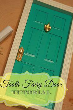 Tooth Fairy Door Tutorial www.dallasstreetdental.com https://www.facebook.com/DallasStreetDental