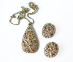 Vintage Sarah Coventry Sultana Pendant by MargsMostlyVintage