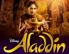 Ticket to see Aladdin musical