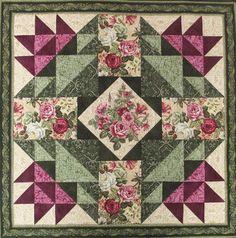 Jubilee Rose Quilt Pattern