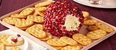 Savory Pomegranate Cheese Ball