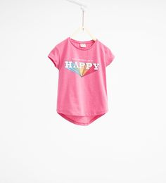 ZARA - KIDS - Heart print T-shirt