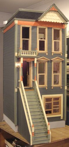 Fabulous dollhouses by Kelloggs Dollhouses