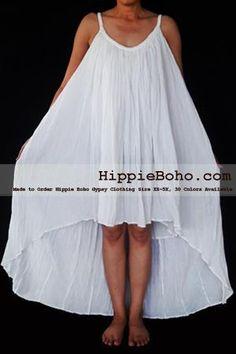 no.015 - size xs-5x hippie boho clothing gypsy white plus size